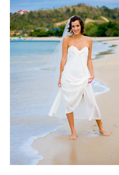 beach dress informal wedding